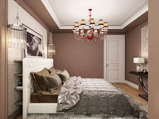 Classic style bedroom by ЙОХ architects Classic