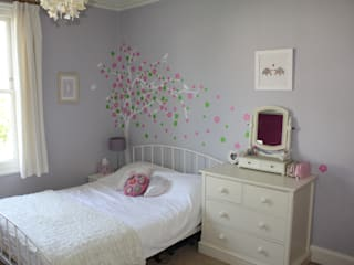 Layla's bedroom Chalk Interior Design BedroomAccessories & decoration