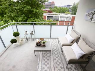 Balcones y terrazas modernos de DIE BALKONGESTALTER Moderno