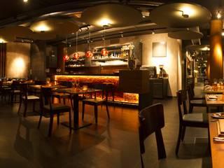 Gourmet-Restaurant ZweiSinn Meiers I Bistro I Fine Dining Moderne Gastronomie von Pfriem-Innenarchitektur Modern