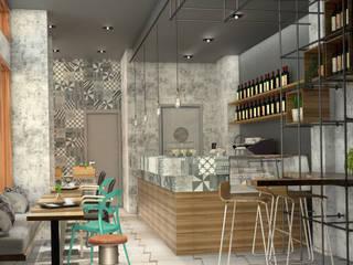 Bar Golden Bar & Club moderni di Silvana Barbato Moderno