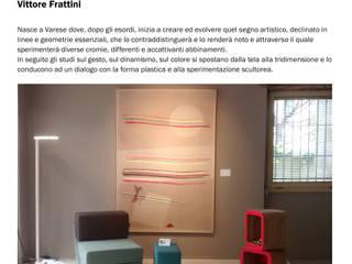 Temporary Varese Design Week Spazi commerciali moderni di Silvana Barbato Moderno
