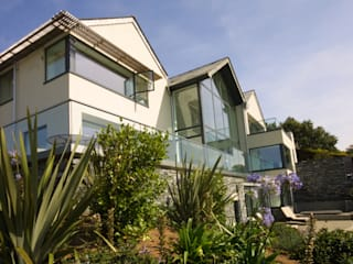 Replacement Dwelling in Trebetherick Cornwall by Arco2 Modern houses by Arco2 Architecture Ltd Modern