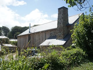 Renovation of Listed Building, Cornwall Дома в стиле кантри от Arco2 Architecture Ltd Кантри