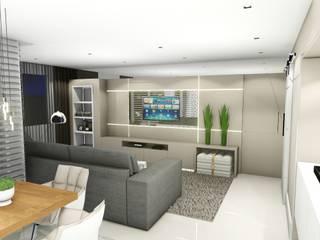 Studio² Modern living room Beige