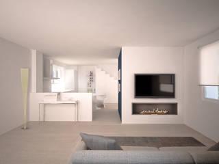 Casa Privata Soggiorno moderno di Silvana Barbato Moderno