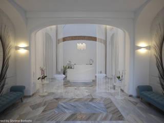 Reception: Spa in stile  di Silvana Barbato, StudioAtelier