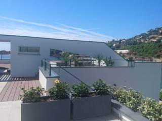 Aussengestaltung und Interior: Privathaus an der Côte d' Azur Moderne Häuser von STYLE-interior design, Ganal + Sloma Modern