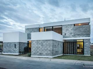 CASA BLOCK / TANGENTE ARQUITECTURA MX:  de estilo  por Oscar Hernández - Fotografía de Arquitectura