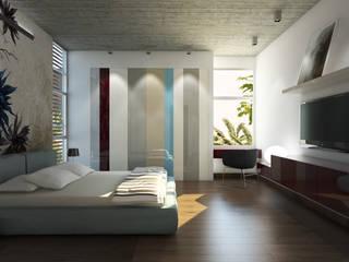 Chambre de style  par MAT Latinamerica , Moderne