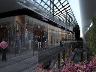 Diseño de un Centro Comercial en Cuernavaca Morelos Centros comerciales de estilo moderno de Arquitectos M253 Moderno