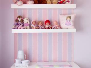 Um clássico dos sonhos - quarto de criança:   por Sâmira Sallaberry Arquitetura e Interiores