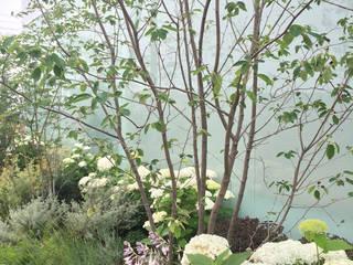 (有)ハートランド Jardines de estilo moderno Blanco