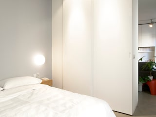 Bedroom by Iglesias-Hamelin Arquitectos c.b., Industrial