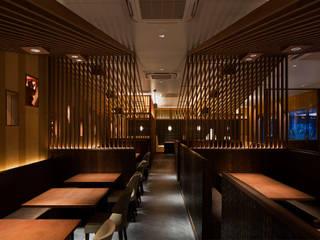 極みとんかつ かつ喜 モダンなレストラン の COCOON DESIGN INC. モダン