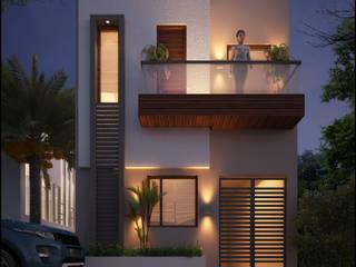 Mr. Kalsi Modern houses by Pixel Works Modern