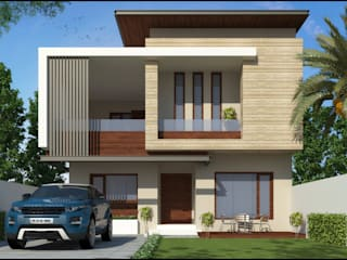 Mr. Chawla ji Pixel Works Modern houses