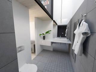 Extensions pour des chambres dhôtes Salle de bain minimaliste par La Fable Minimaliste