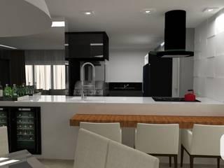 Projeto de Reforma de Apartamento Cozinhas modernas por Dias & Peralta Arquitetos Moderno