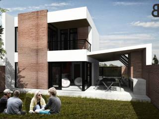 Patio - Etapa 2: Jardines de estilo moderno por EKOPP obras & arquitectura