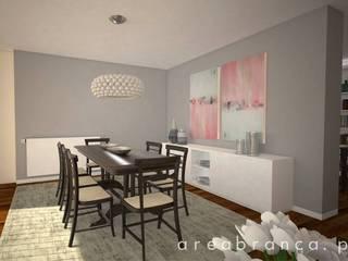 Projeto Sala JM Salas de jantar modernas por Areabranca Moderno