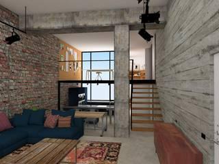 ESTUDIO BAO ARQUITECTURA Living room