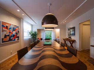 Tato Bittencourt Arquitetos Associados غرفة السفرة