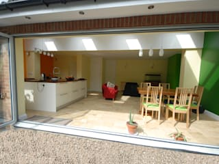 House extension And refurbishments by Persepolis Architecture Ltd