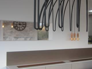 Penthouse in Luxemburg Moderne Wohnzimmer von STYLE-interior design, Ganal + Sloma Modern
