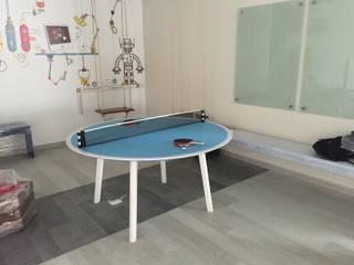 Mesa Recreativa ping pong:  de estilo  por Herm & Bleu