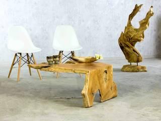 Rustikal und doch elegant! TEAK Couchtische von PICASSI von Picassi Ausgefallen