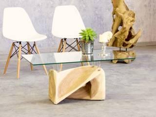 Rustikal und doch elegant! TEAK Couchtische von PICASSI von Picassi Minimalistisch