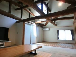 Bedroom by 氏原求建築設計工房