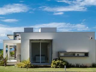 PJV Arquitetura Case moderne Cemento Bianco