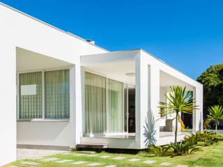 Casa CSP 2 Varandas, alpendres e terraços modernos por PJV Arquitetura Moderno
