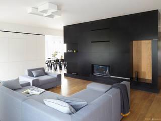 Wnętrze Karczew Dormitorios de estilo moderno de aneta.filipczak Moderno