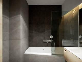 ul. Głowackiego Modern Bathroom by enem.studio Modern