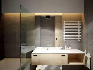 ul. Głowackiego Modern Living Room by enem.studio Modern