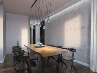 ul. Czapinskiego, kraków Modern Dining Room by enem.studio Modern