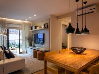 Apartamento decorado RJZ - 根據 Gisele Taranto Arquitetura 現代風