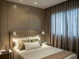Apartamento decorado RJZ - Chambre moderne par Gisele Taranto Arquitetura Moderne