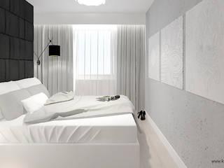 Modern Bedroom by Klaudia Tworo Projektowanie Wnętrz Sp. z o.o. Modern