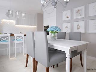 Classic style dining room by Klaudia Tworo Projektowanie Wnętrz Sp. z o.o. Classic