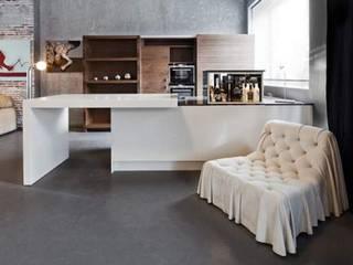 SHOWROOM: styl , w kategorii Kuchnia zaprojektowany przez EBANO kuchnie i wnętrza