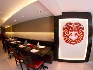 Restaurants de style  par MONICA SPADA DURANTE ARQUITETURA,