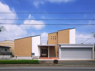 Maisons originales par かんばら設計室 Éclectique
