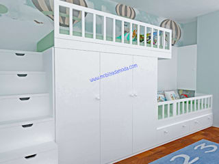 Modern Kid's Room by MOBİLYADA MODA Modern Wood Wood effect