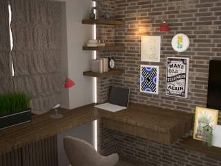 Детская в стиле лофт Детская комната в стиле лофт от DS Fresco Лофт