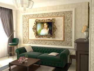 Квартира в английском стиле Гостиная в классическом стиле от DS Fresco Классический