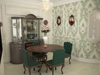 Квартира в английском стиле Столовая комната в классическом стиле от DS Fresco Классический